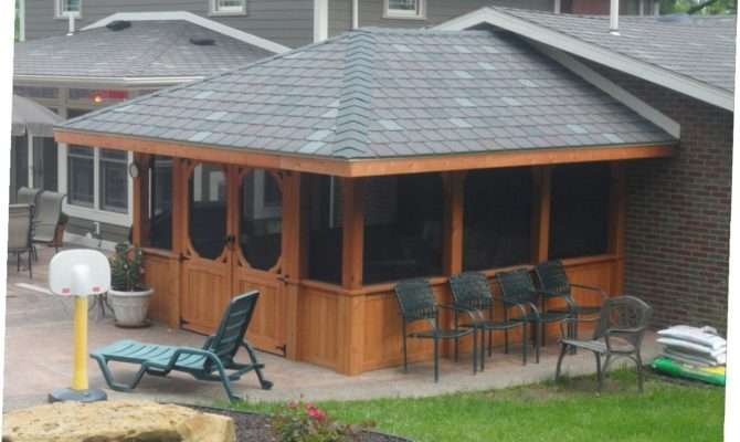 Gazebo Attached House Ideas