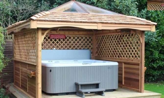 Gazebo Ideas Hot Tubs Tub
