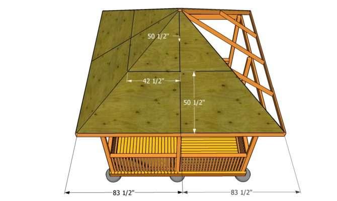 Gazebo Roof Plans Build