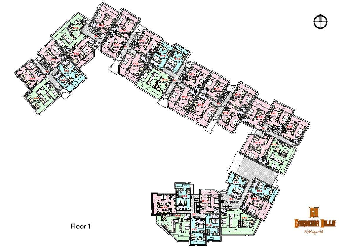 Genius Apartment Block Floor Plans Building