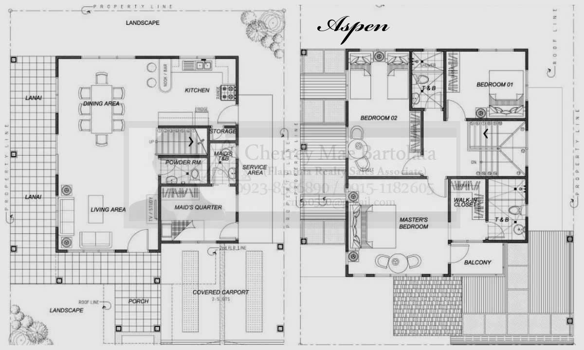 Genius Two Storey Residential Building Plan