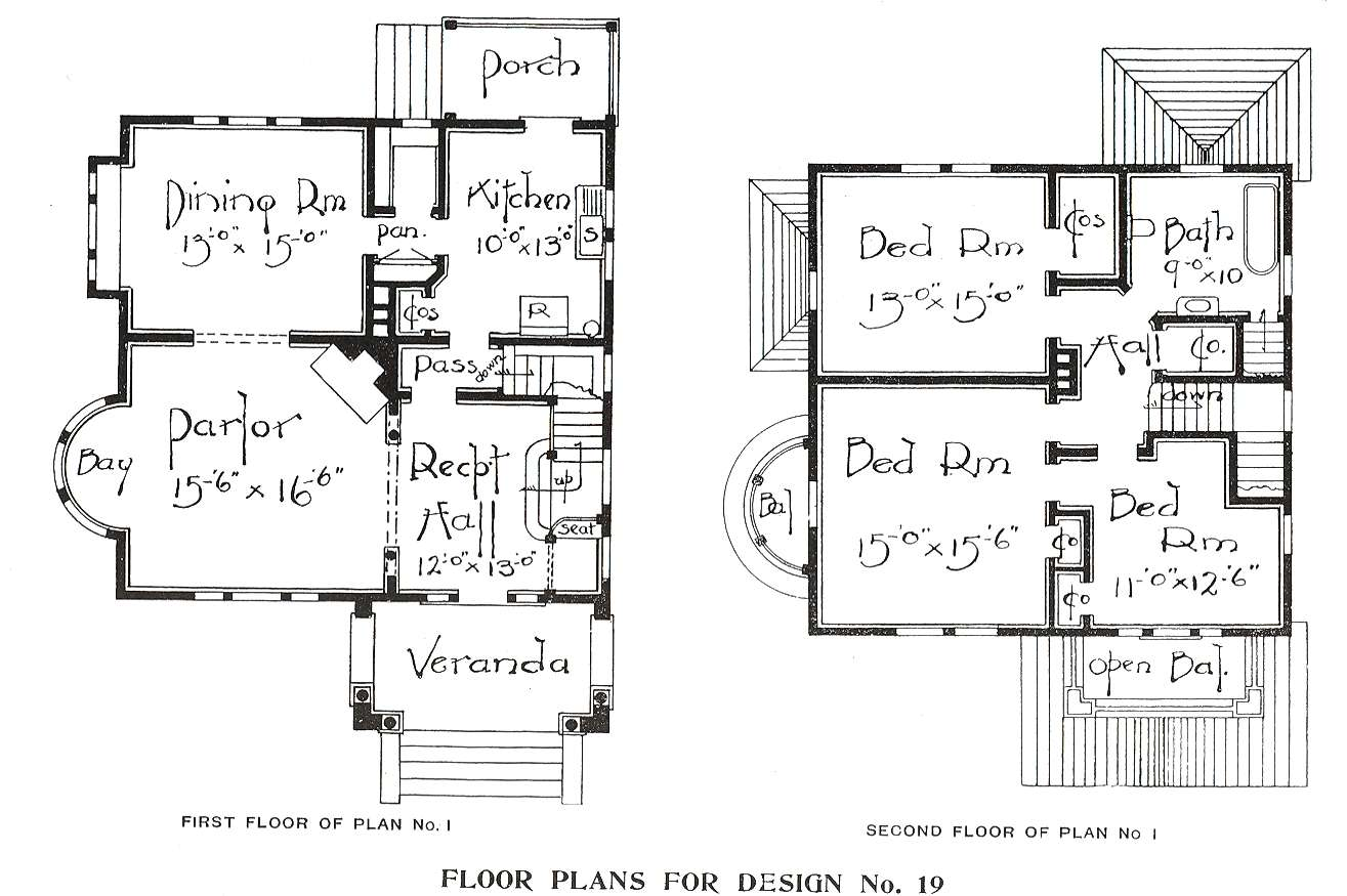 George Barber House Plans Home Design Style