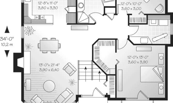Georgetown Hill Victorian Home Plan House