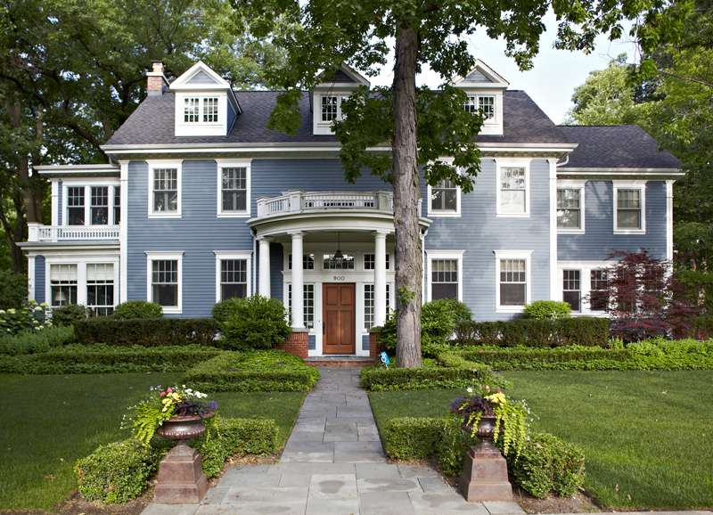 Georgian Colonial Architecture Home Design