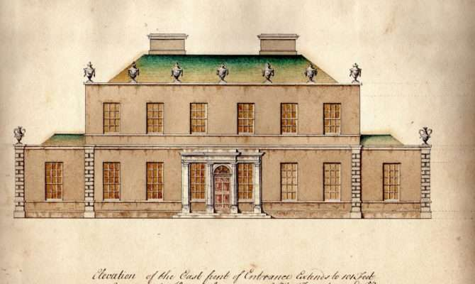 Georgian House Plans Designs