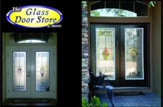 Georgian Town Old World Classic Style Front Door Glass