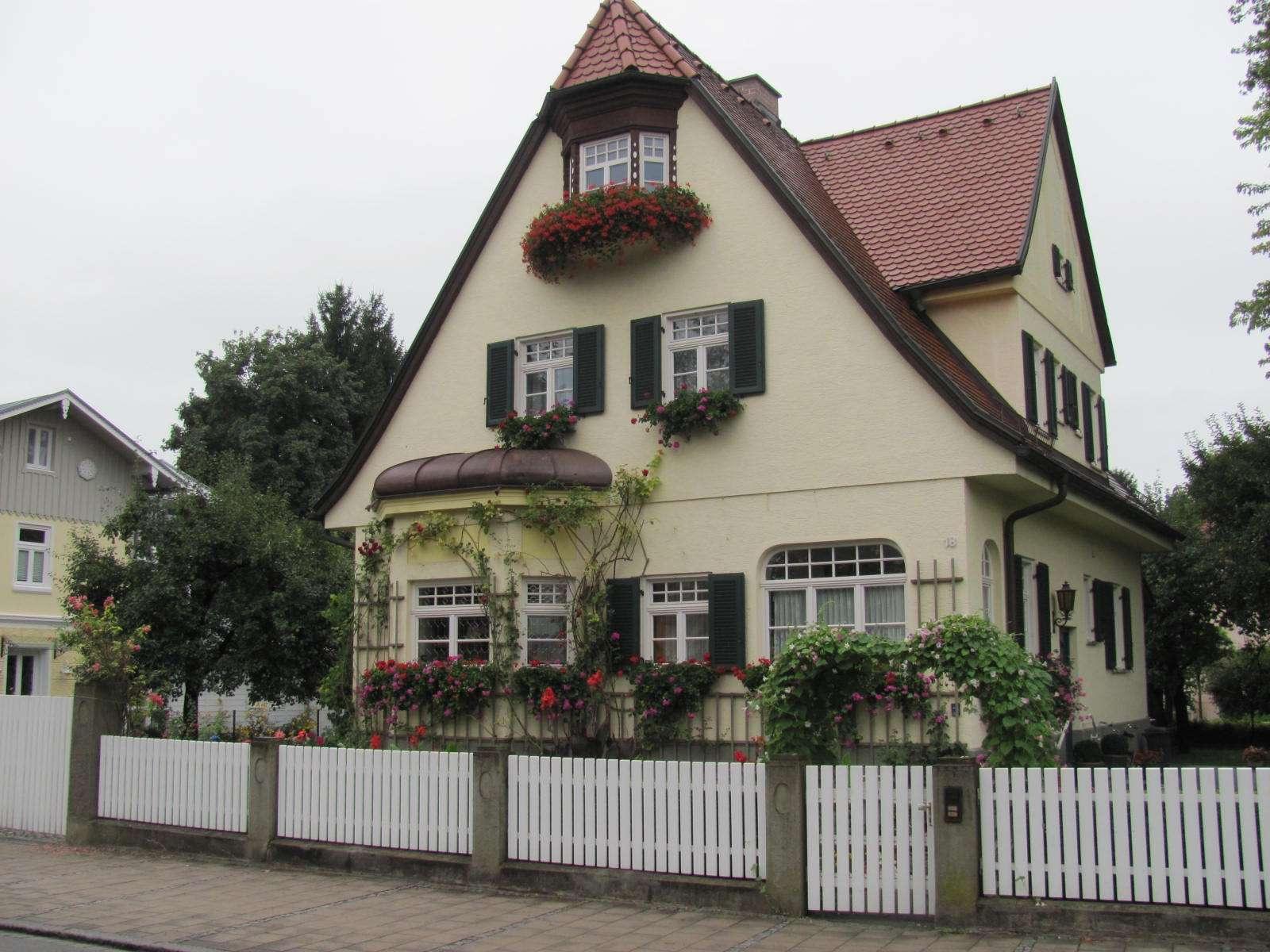 German Home Design Plans Porches House Designs