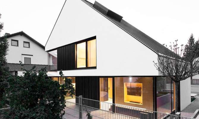 German Style House Plans Asymmetrical Roof