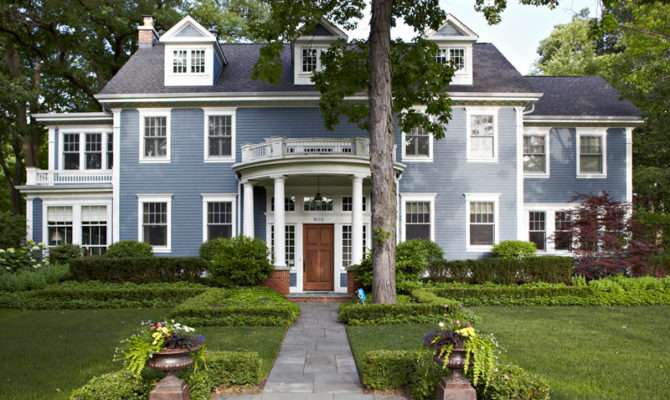 Get Look Georgian Style Architecture Traditional Home