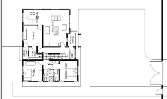 Ghana House Plans Ashon Plan