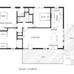 Gilbert Floorplan Level Midgett Realty