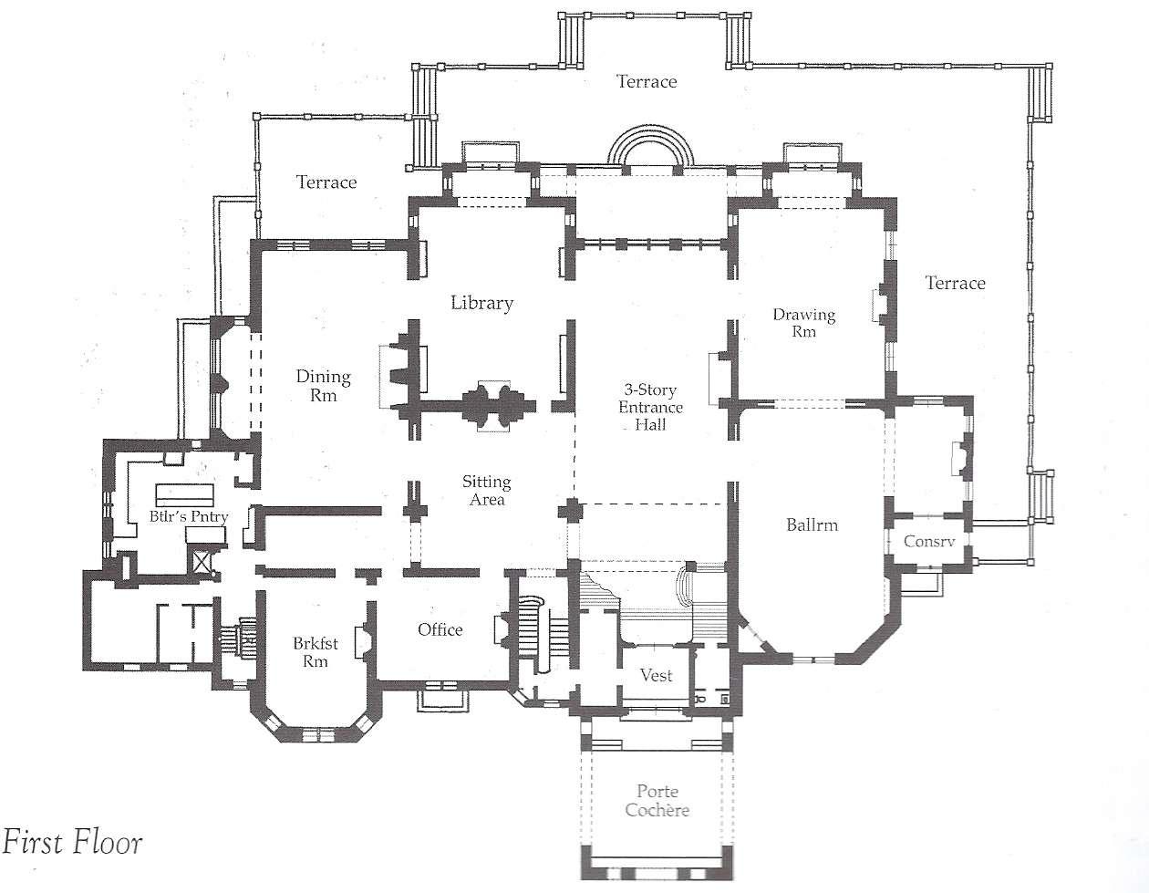 Gilded Age Era Ochre Court Ogden Goelet Estate