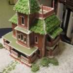 Gingerbread House Patterns Victorian Green Style