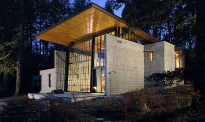 Glass Concrete Steel Stone Tom Kundig Northwest