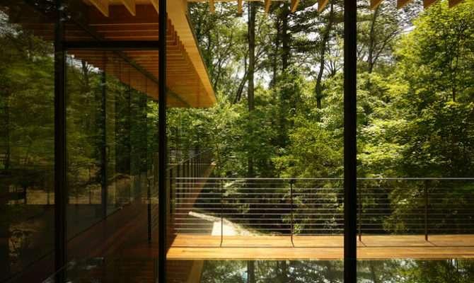 Glass Wood House Architecture Kengo Kuma Associates