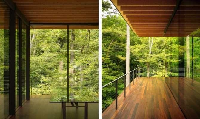 Glass Wood House Kengo Kuma Architecture