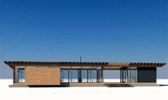 Glass Wood Small House Design Vandeventer
