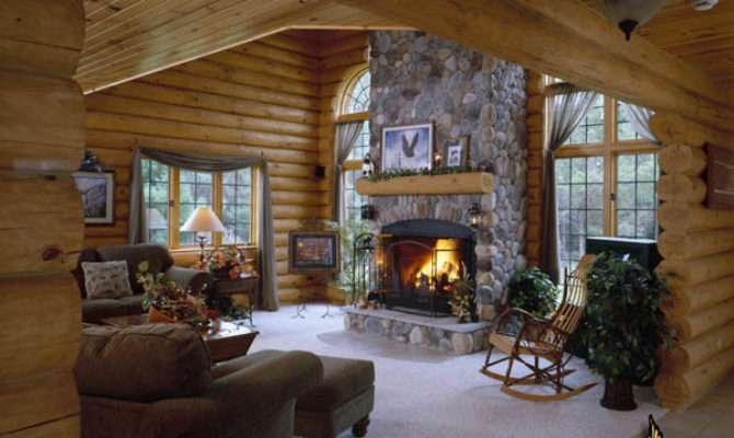 Golden Eagle Log Homes Home Cabin Photos