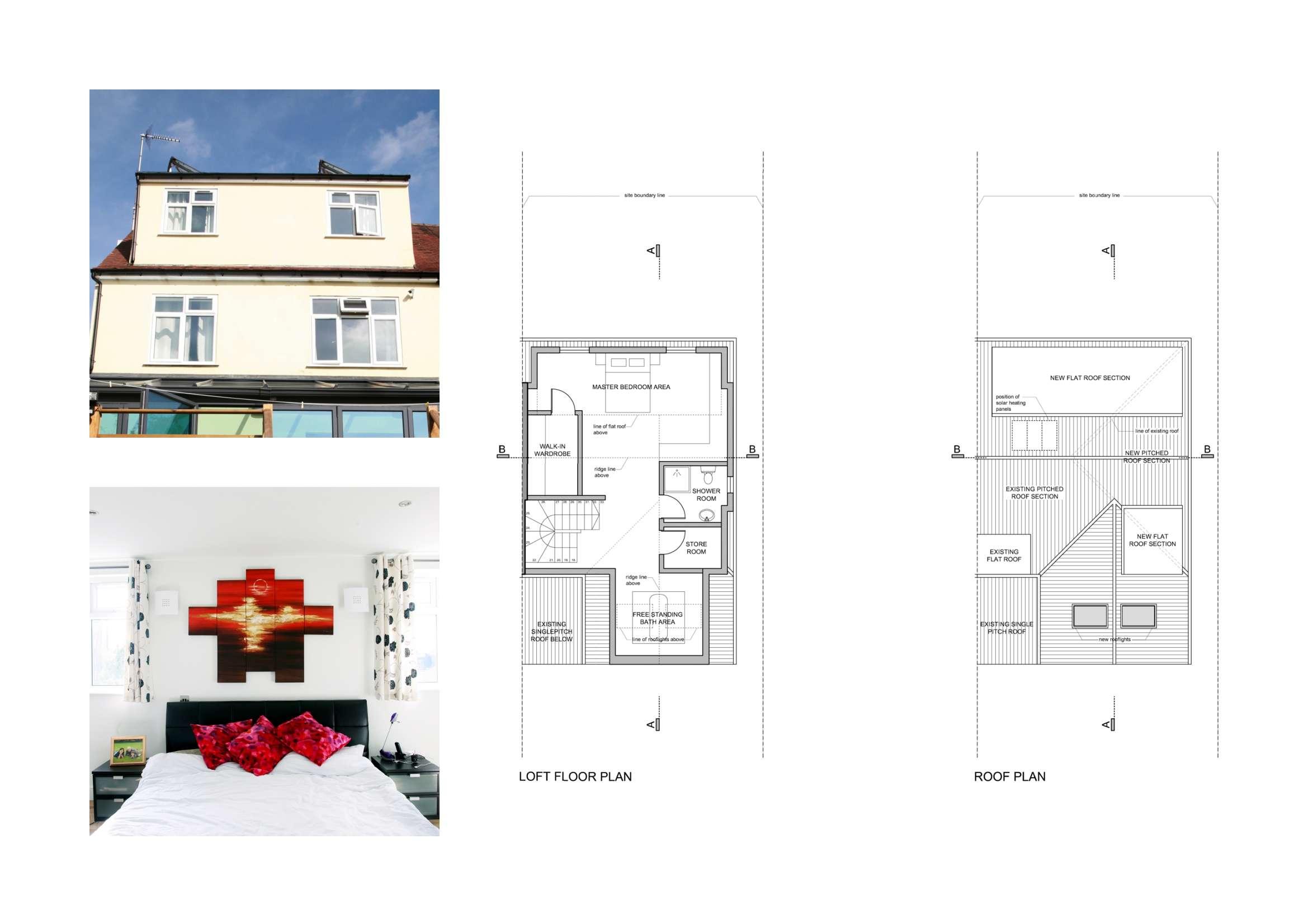 Golders Green Barnet House Extension Design Floor Plans