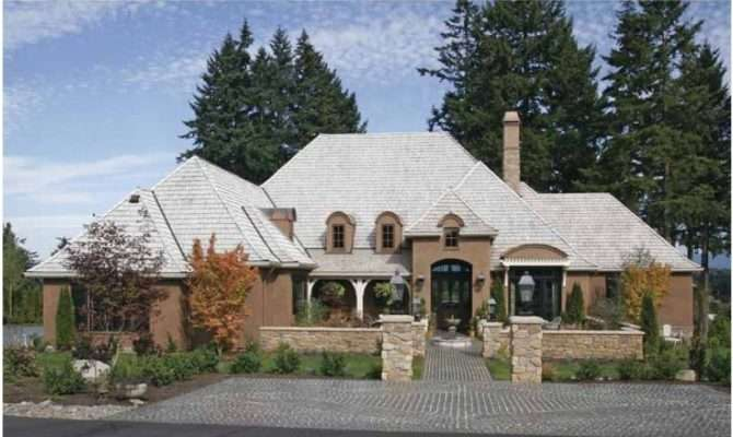 Good French Country Homes New House Inspired Old