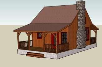 Google Sketchup Tiny House Designs