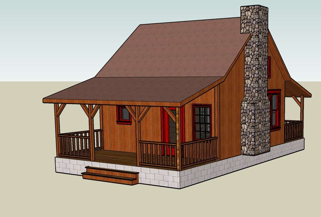 Google Sketchup Tiny House Designs