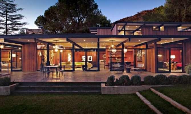 Gorgeous Mid Century Modern Exterior Designs Homes