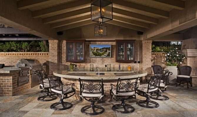 Gorgeous Outdoor Kitchens Hgtv Decorating Design