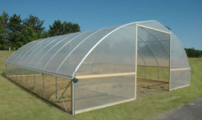 Gothic Greenhouse Fieldpro High Tunnel