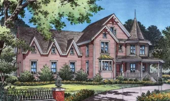 Gothic Revival House Plan Square Feet Bedrooms