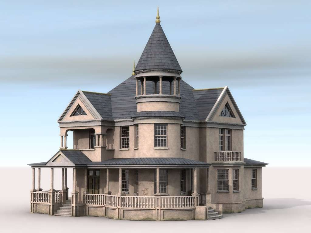 Gothic Victorian House Plans Popular Style Design