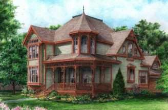 Gothic Victorian Style Homes Home Plans House