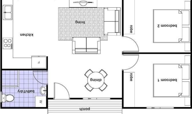 Granny Flat Building Plans South Africa Bedroom