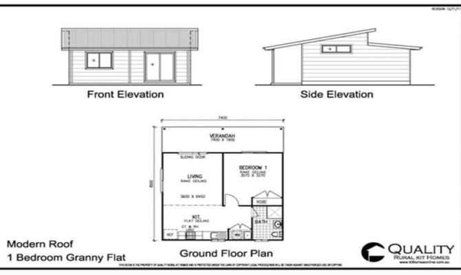 Granny Flat Floor Plans South Africa