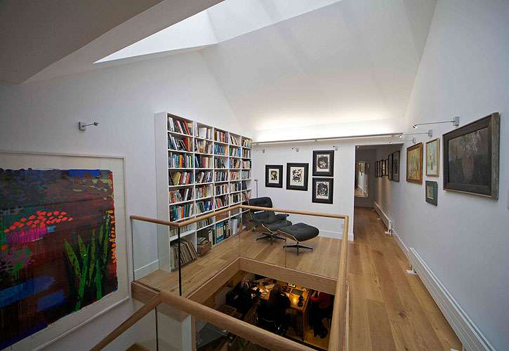 Grazebrook Architects Modern Terrace House Clifton