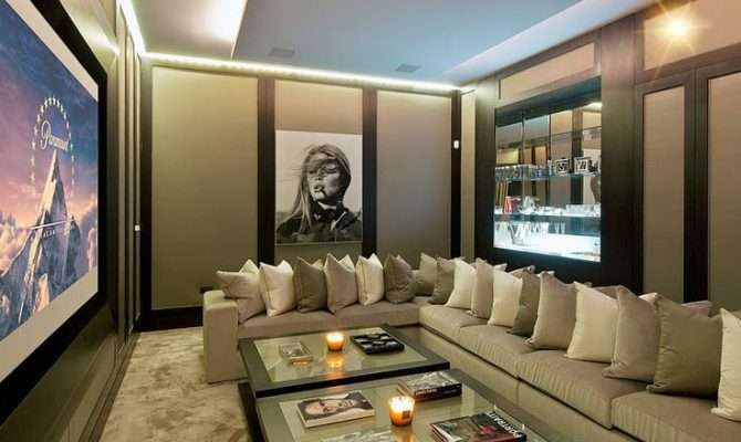 Great Ideas Furnishing Your Home Theatre Destination