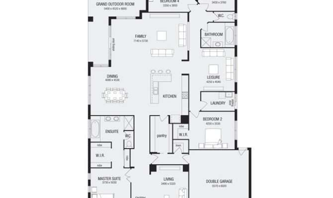 Great Room Floor Plan Home Design Pinterest