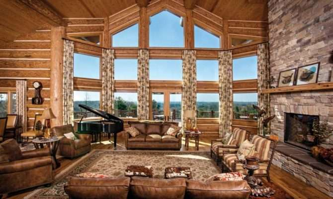 Great Room Log Homes Timber