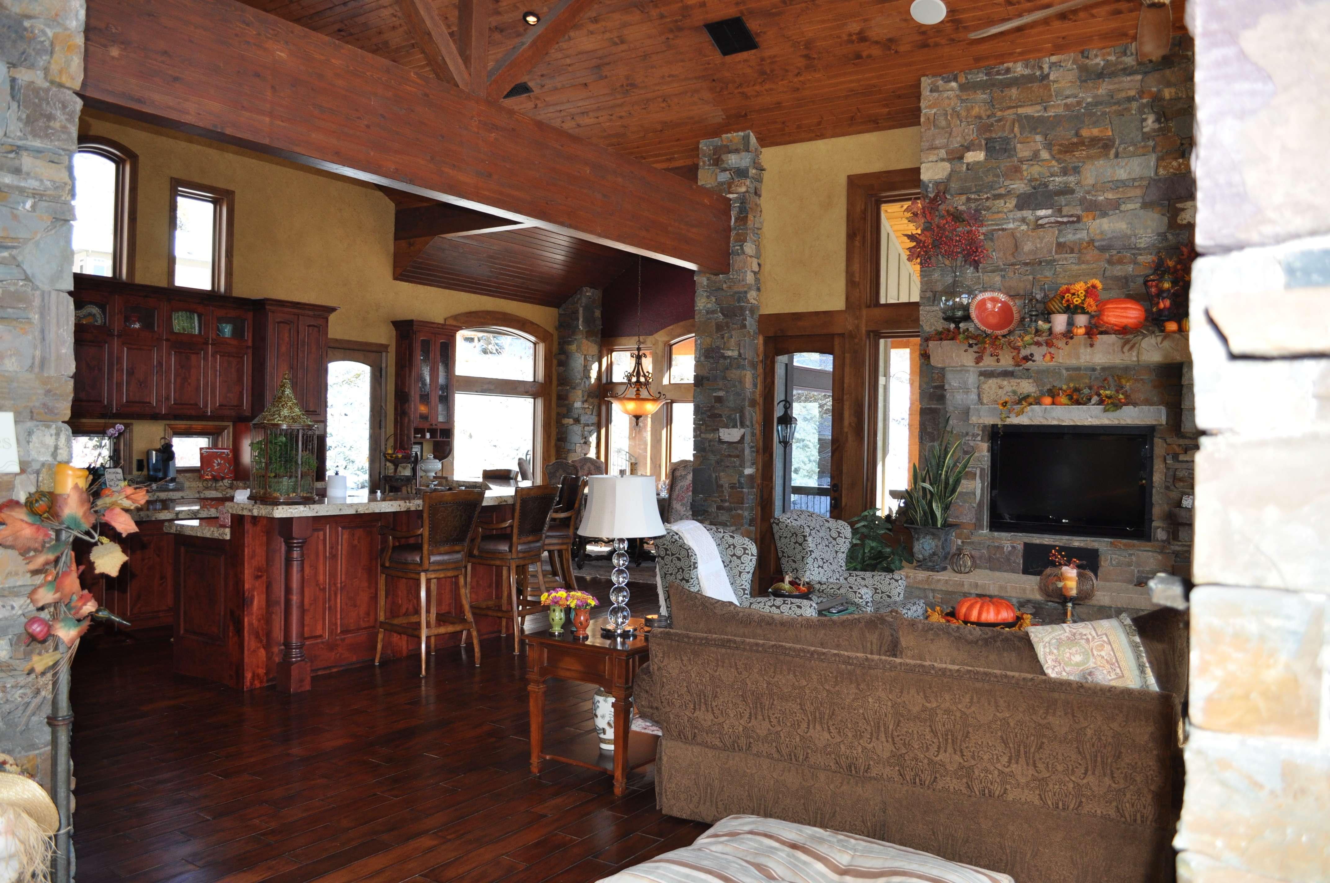 Great Room Open Floor Plan Celebrating Style Home Blog