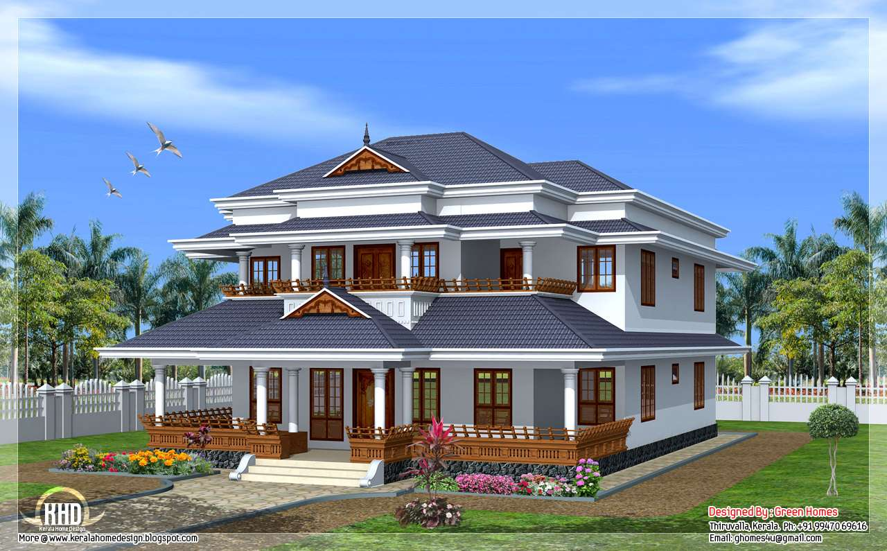Great Vastu Based Traditional Kerala Style Home Homes