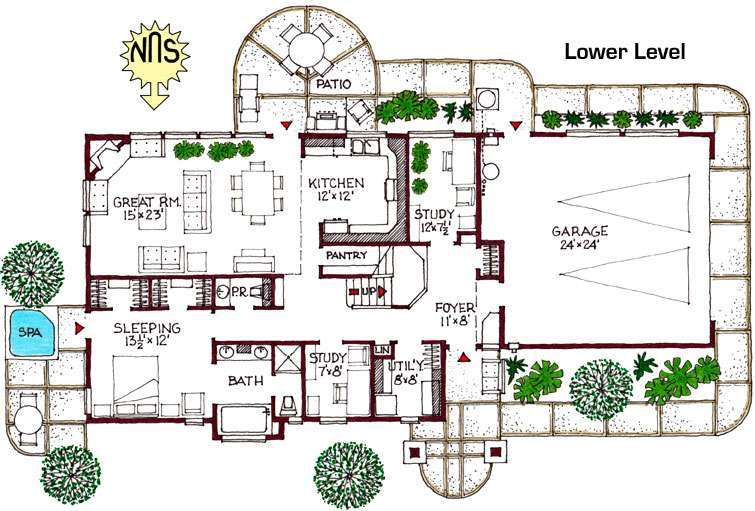 Green Home Designs Floor Plans Peenmedia