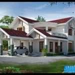 Green Homes Bhk Kerala Home Design Feet