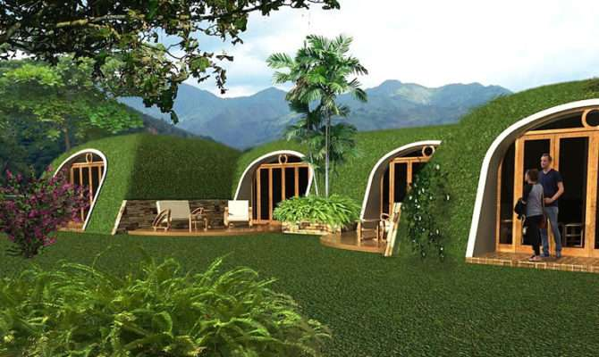 Green Magic Homes Kit Lets Live Like Hobbit