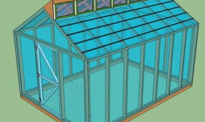 Greenhouse Plans Diy