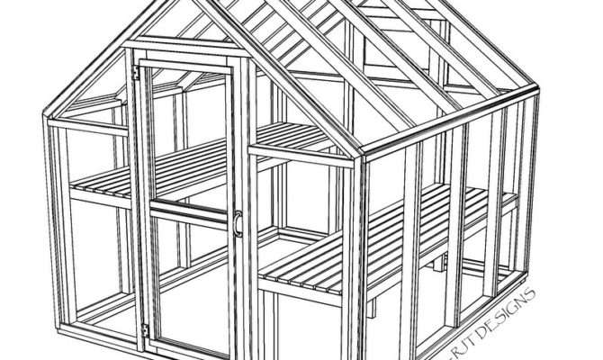 Greenhouse Plans Printed