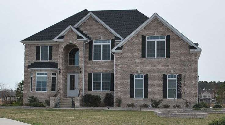 Grey Brick House Facades Pinterest Bricks Homes