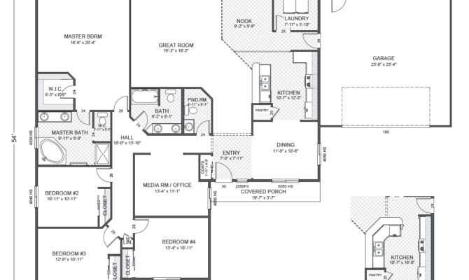 Greythorne Home Plan True Built Pacific Northwest