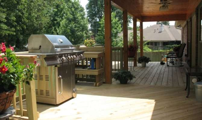 Grilling Deck Louis Decks Screened Porches