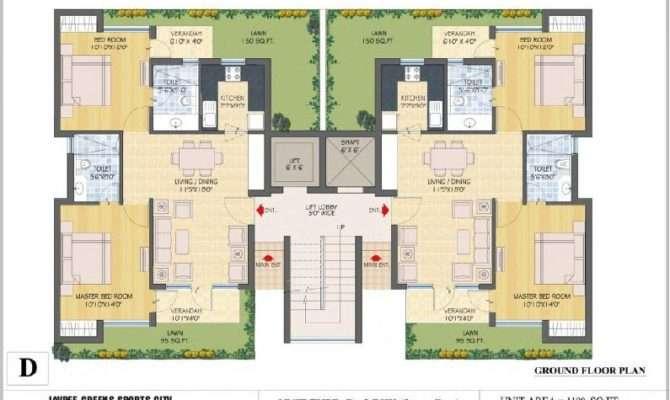 Ground Floor Plan Type Typical