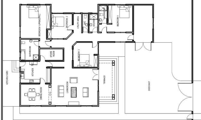 Ground Floor Plans House